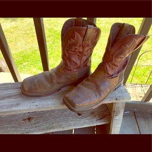Men's Justin Steel toe work boots